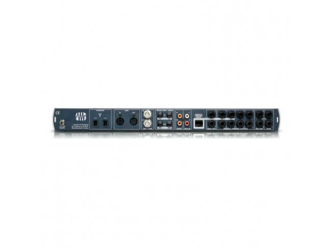 firestudio project The presonus firestudio project is a rackable interface that is 10 by 10 with 8 mic preamps and digital ins and outs as well as analog ins and outs.